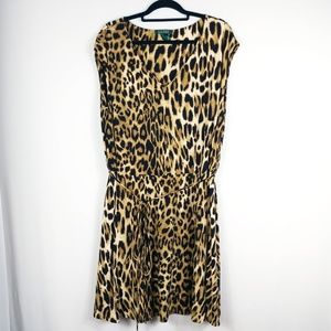 Ralph Lauren Leopard/ Cheetah/ Animal Print Dress
